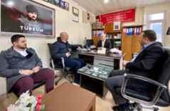 Ender Serbes, Geyve'de ziyaretler gerçekleştirdi..