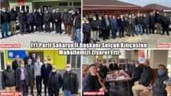 Başkan Kılıçaslan Boğazköy, Kışlaçay ve Doğançay köylerini ziyaret etti.