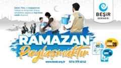 Beşir Derneği bu Ramazan'da da 4 kıtada binlerce mahzun gönüle dokunacak