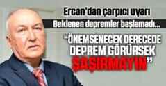 Ercan'dan çarpıcı deprem uyarısı.