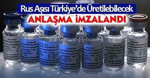 Rus Aşısı Türkiye'de Üretilebilecek..