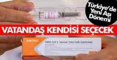 Son Dakika: Vatandaş Aşısını Seçebilecek..