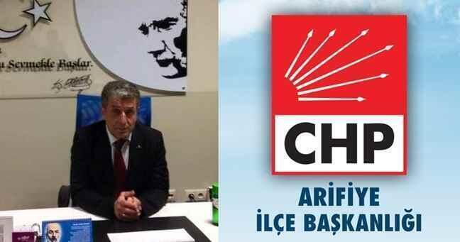 CHP Arifiye Mayıs ayı meclis toplantısıyla ilgili basın açıklaması..