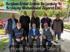 Erdal Erdem Boğazköy Ve Kışlaçay Mahallesini Ziyaret Etti..