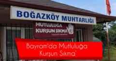 Boğazköy Mahalle Muhtarından Önemli Uyarı:'Mutluluğa Kurşun Sıkma'