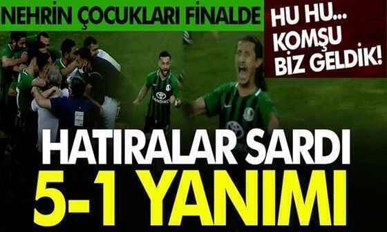 Sakaryaspor finalde!
