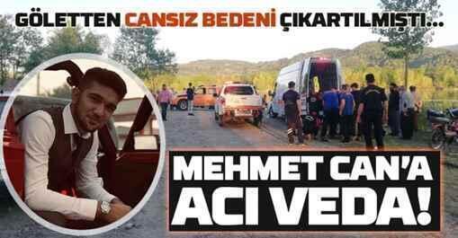 Mehmet Can İnan'ın Cenazesi Kumbaşı'da Gözyaşı İle Toprağa Verildi..