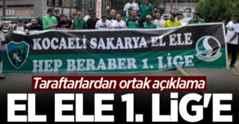 Tatangalar ve Hodri Meydan'dan ortak açıklama: El ele 1. Lig'e