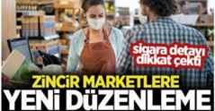 Zincir market ve AVM'lere yeni düzenleme!