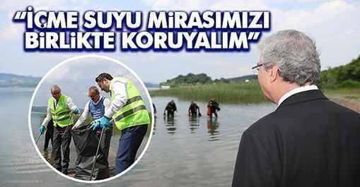 """Başkan Yüce, """"İçme Suyu Mirasımızı Birlikte Koruyalım"""""""