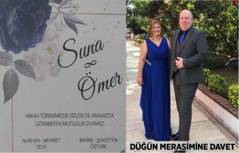 Suna Selvi & Ömer Öztürk Çifti Bu Mutlu Günümüzde Sizleri de Bekleriz..