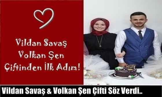 Vildan Savaş & Volkan Şen Çiftinden İlk Adım!