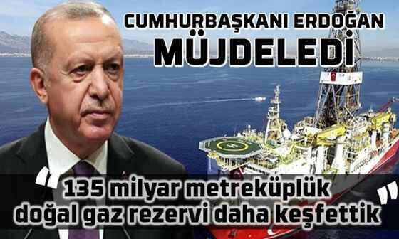 Karadeniz'de 135 milyar metreküp doğalgaz rezervi bulundu!