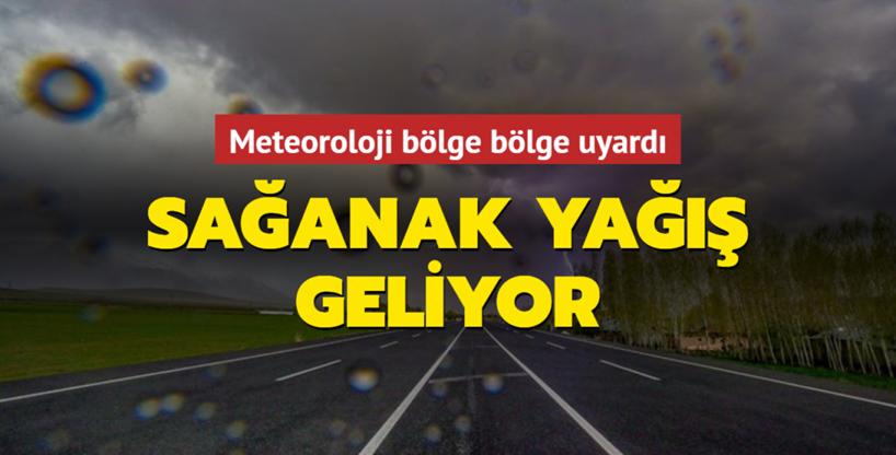 """Meteoroloji Uyardı""""Bu bölgede yaşayanlar dikkat!"""