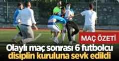 Karasuspor 2-3 Hendekspor Olaylı Maçın Geniş Özeti..