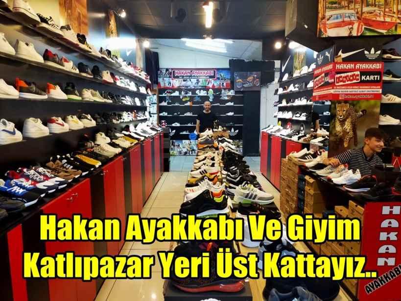 Hakan Ayakkabı Ve Giyim/ Katlıpazar Yeri Üst Kattayız..