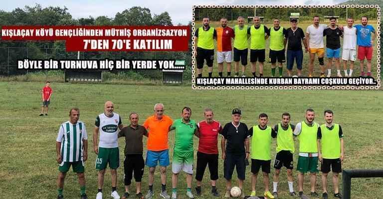 Kışlaçay Köyü Gençliği Mini Futbol Turnuvası Başladı!