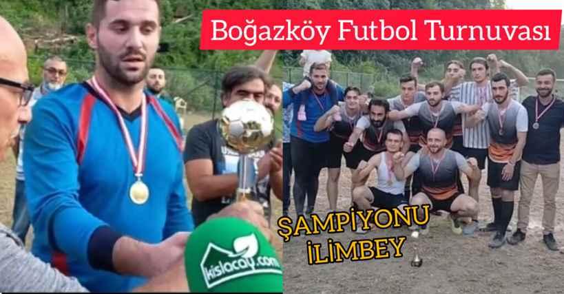 Boğazköy Futbol Turnuvası Şampiyonu İlimbeyspor