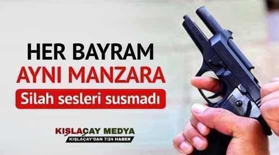 Bayram'da Yine Silahlar Susmadı…