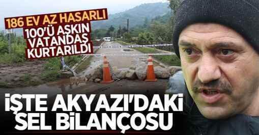 Vali Kaldırım Sel Bilançosunu Açıkladı: 110 Vatandaş Tahliye Edildi