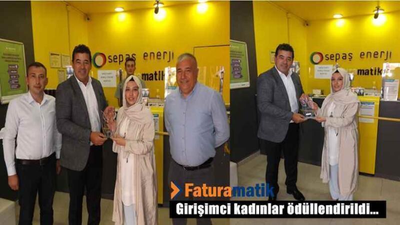 Faturamatik'ten Kadın Girişimcilere Ödül.