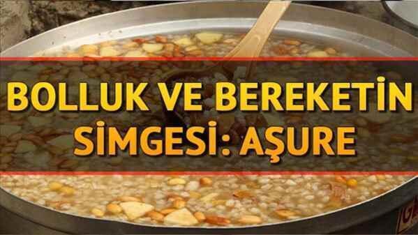 """Kışlaçay'da Kazanlar Aşure İçin Kaynadı""""Allah Kabul Etsin!"""