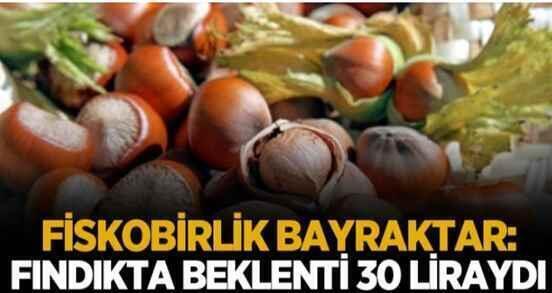 FİSKOBİRLİK Başkanı Bayraktar'tan fındık fiyatı açıklaması