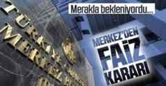 Merkez Bankasından Faiz kararı açıklandı…