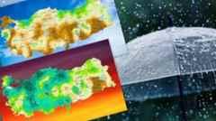 Meteoroloji'den kritik rapor: Sakarya en fazla yağışla zirvede!