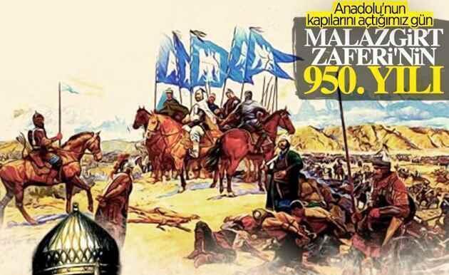 Malazgirt Zaferinin 950.yıl dönümü…