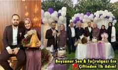 Beyzanur Şen & Tuğrulgazi Ece Çiftinden İlk Adım!