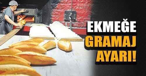 Sakarya'da ekmeğin gramajı düştü, fiyat aynı kaldı.