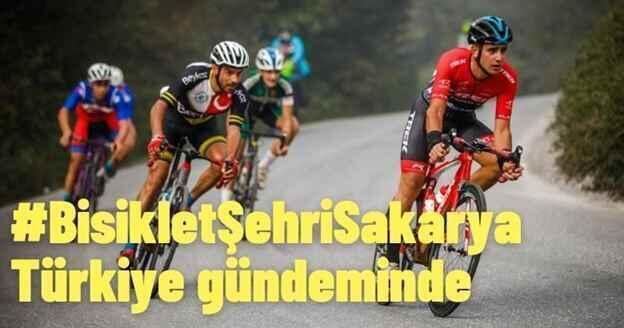 #BisikletŞehriSakarya Türkiye gündeminde..