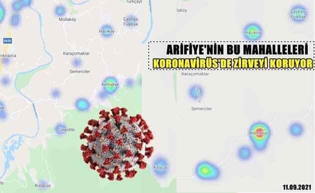 Kışlaçay-Çınardibi-Kemaliye-Mollaköy'de Koronavirüs Son Durum..