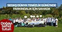 SEDAŞ Dünya Temizlik Günü'nde Farkındalık İçin Sahada