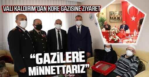 Valilik'ten Gaziler Günü ziyaretleri