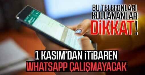 WhatsApp bazı Android ve iOS cihazlarda çalışmayacak.