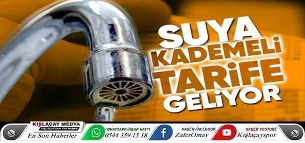Erdoğan açıkladı..Suya kademeli tarife geliyor.