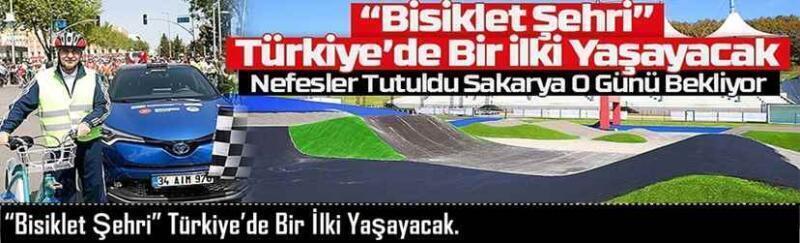 """""""Bisiklet Şehri"""" Türkiye'de Bir İlki Yaşayacak."""