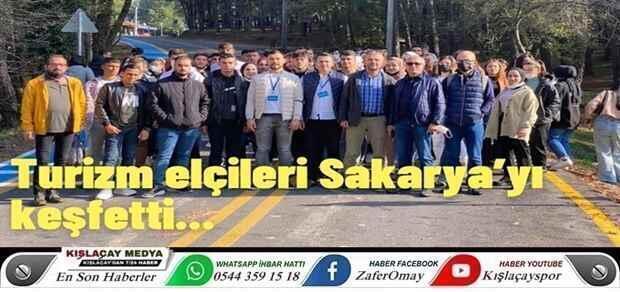 Turizm elçileri Sakarya'yı keşfetti.