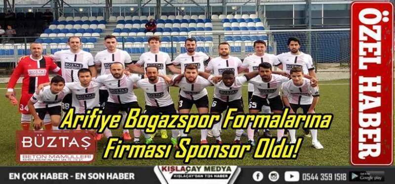 Arifiye Boğazspor İç Saha Formalarına Büztaş Beton Firması Sponsor Oldu!