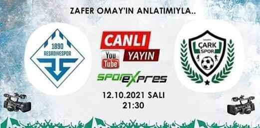 Reşadiyespor Vs Sakarya Çarkspor / Canlı Yayın