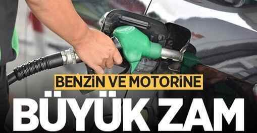Araç sahipleri dikkat! Benzin ve motorine büyük zam.