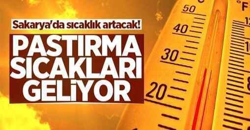 Sakarya'da bu hafta hava sıcaklığı hissedilir derecede artacak…